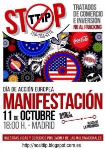 En el Estado español 31 ciudades se suman al NOalTTIP